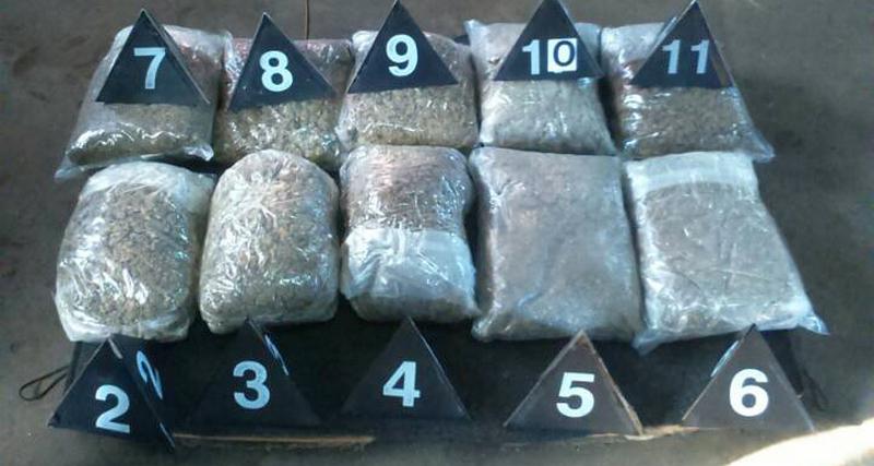 Na naplatnoj rampi zaplenjeno više od devet kilograma marihuane