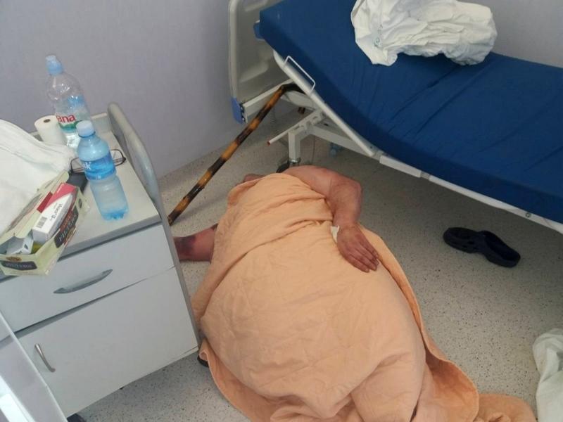 Pacijent ležao na podu, oglasila se i uprava Kliničkog centra