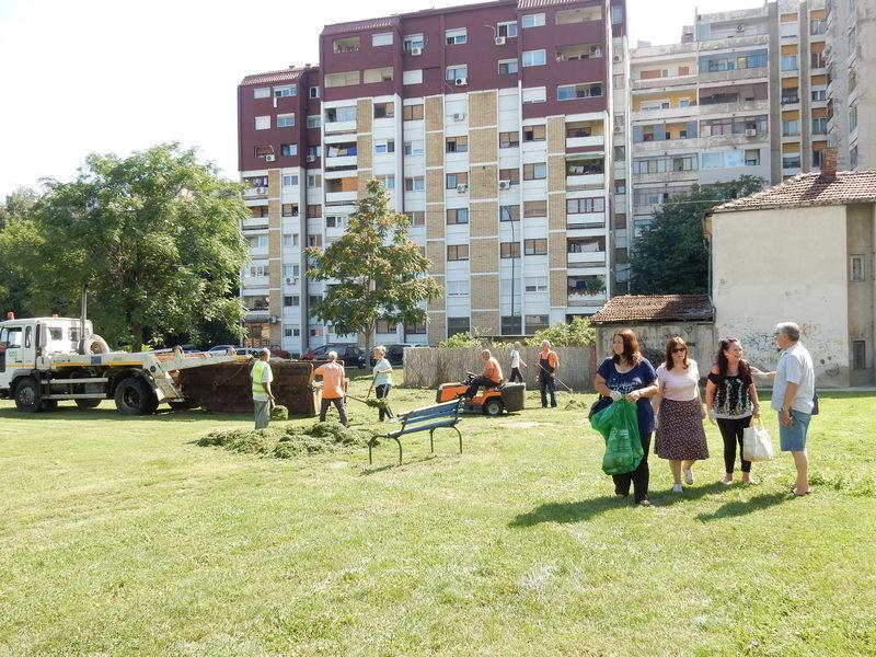 Još jedna akcija čišćenja zelenih gradskih površina