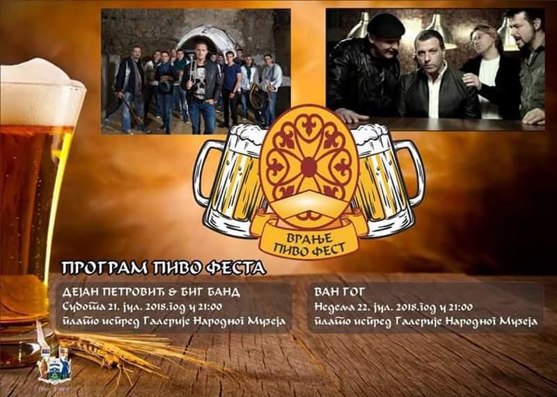 Pivo fest prvi put u Vranju uz Big Banda Van Goga