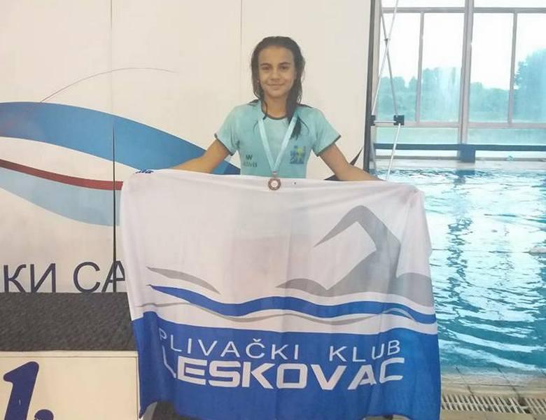 Iva Petković iz PK Leskovac treća na državnom prvenstvu
