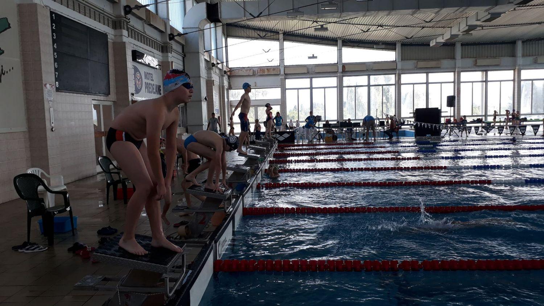 Počelo Republičko takmičenje u plivanju u Leskovcu