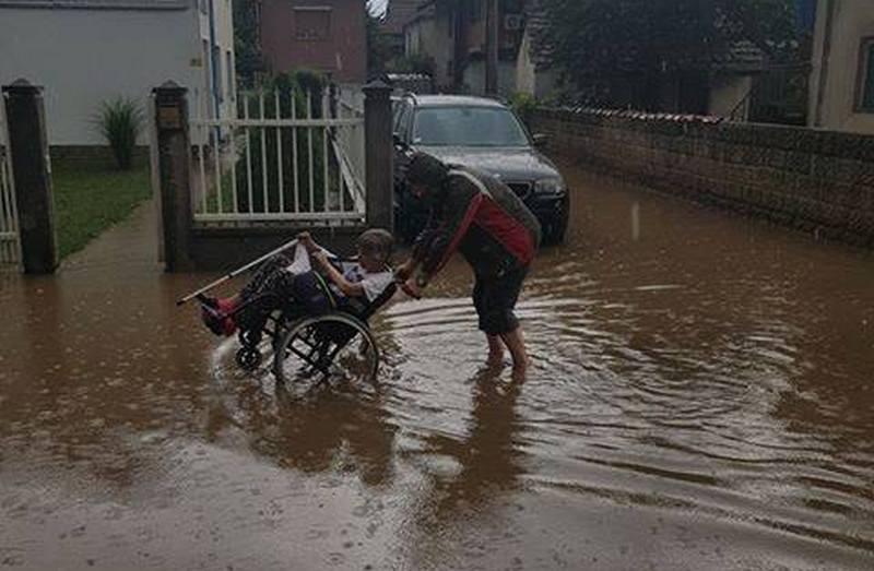 Nema štete nakon jučerašnjih bujičnih poplava