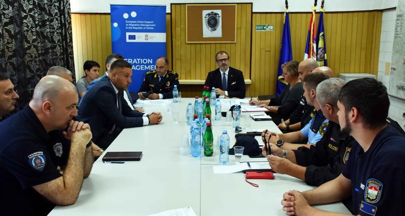 Fabrici: Srbija efikasna u suzbijanju iregulatnih migracija