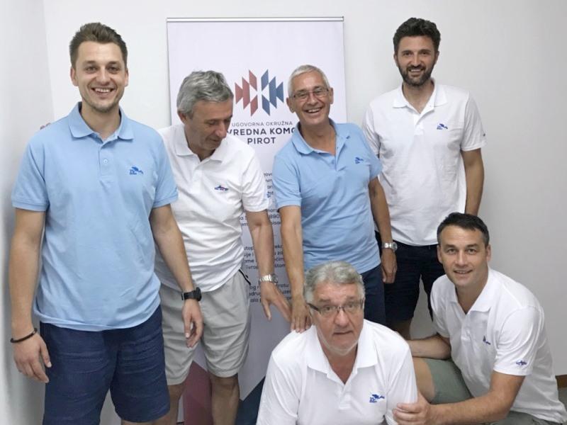 Predstavnici KKBajerni Barcelona posetiliPrivrednukomoruPirot