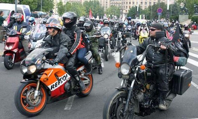 Veliki skup motorista u doljevačkom akva parku