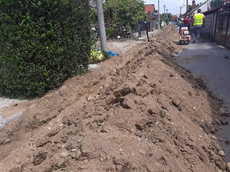 I peta ulica u gradu dobija novu vodovodnu mrežu