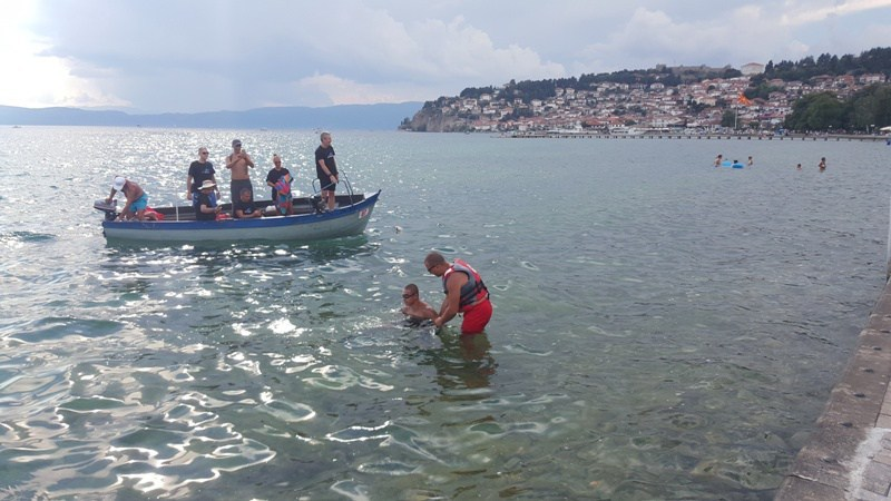 Preplivao Ohridsko jezero za 7 sati i 15 minuta