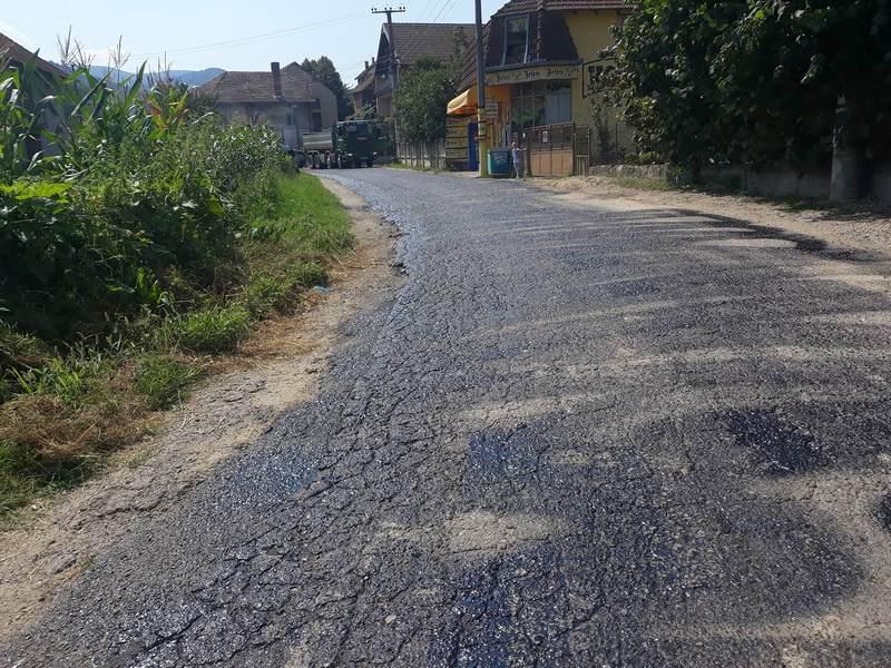Počela rekonstrukcija opštinskog puta Velika Kopašnica – Slatina