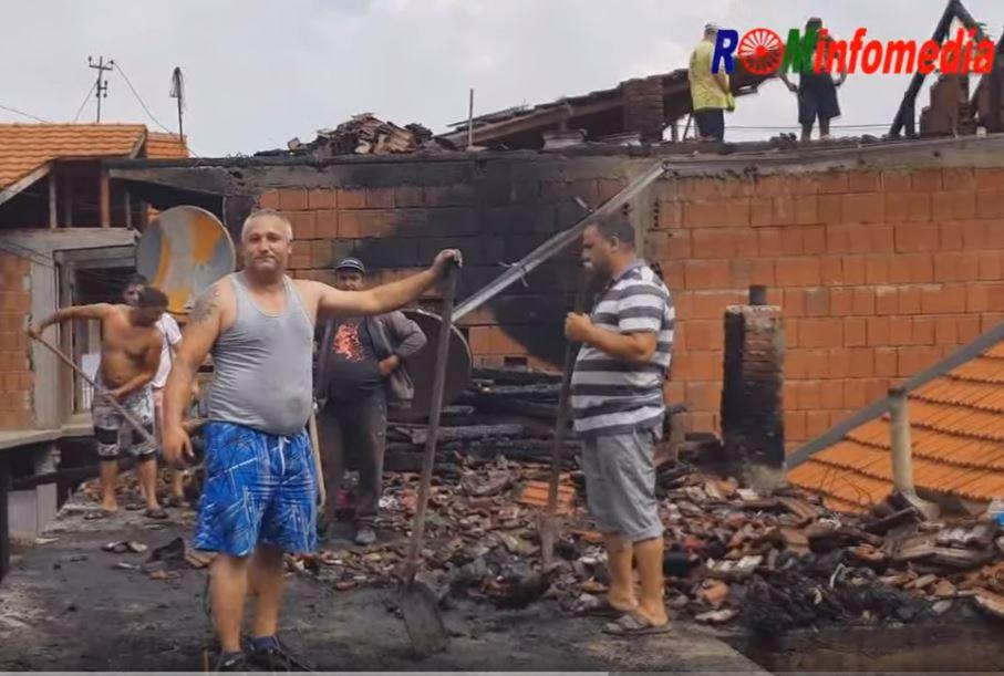 Noćas goreli krovovi u Podvorcu