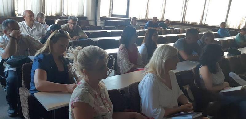 Sastanak sa direktorima svih škola na području grada uoči početka nove školske godine