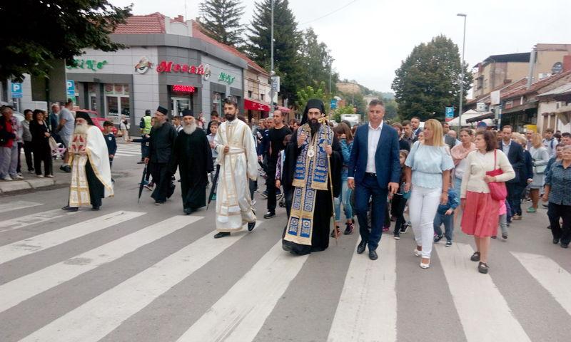 Gradska slava obeležena liturgijom u Tijabarskoj crkvi i litijma kroz grad