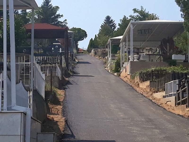 Završeno asfaltiranje staza na Svetoilijskom i Špitaljskom groblju