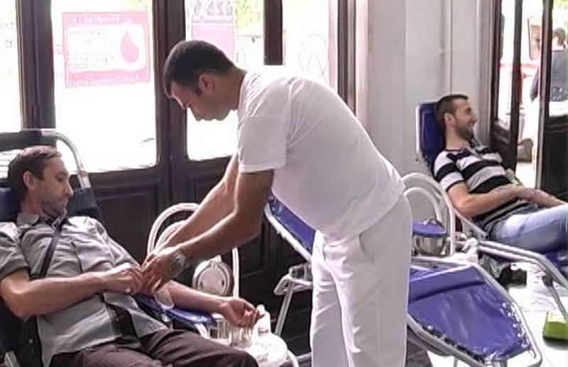Prva akcija dobrovoljnog davanja krvi od stupanja na snagu novog Zakona o transfuziji