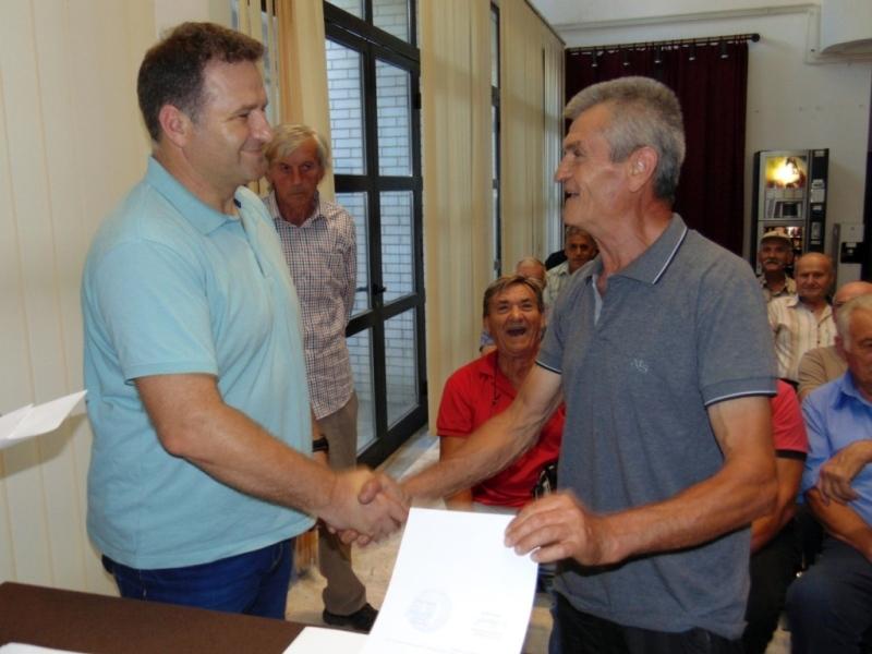 Završeno potpisivanje ugovora sa poljoprivrednicima iz Medveđe