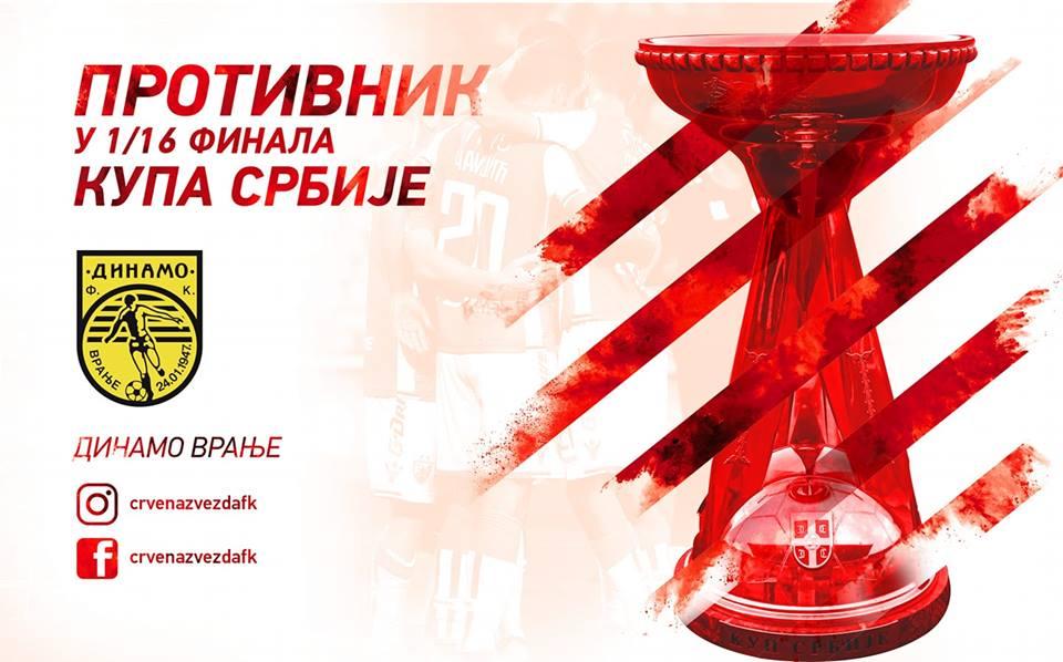 Kup Srbije: Dinamo protiv Zvezde