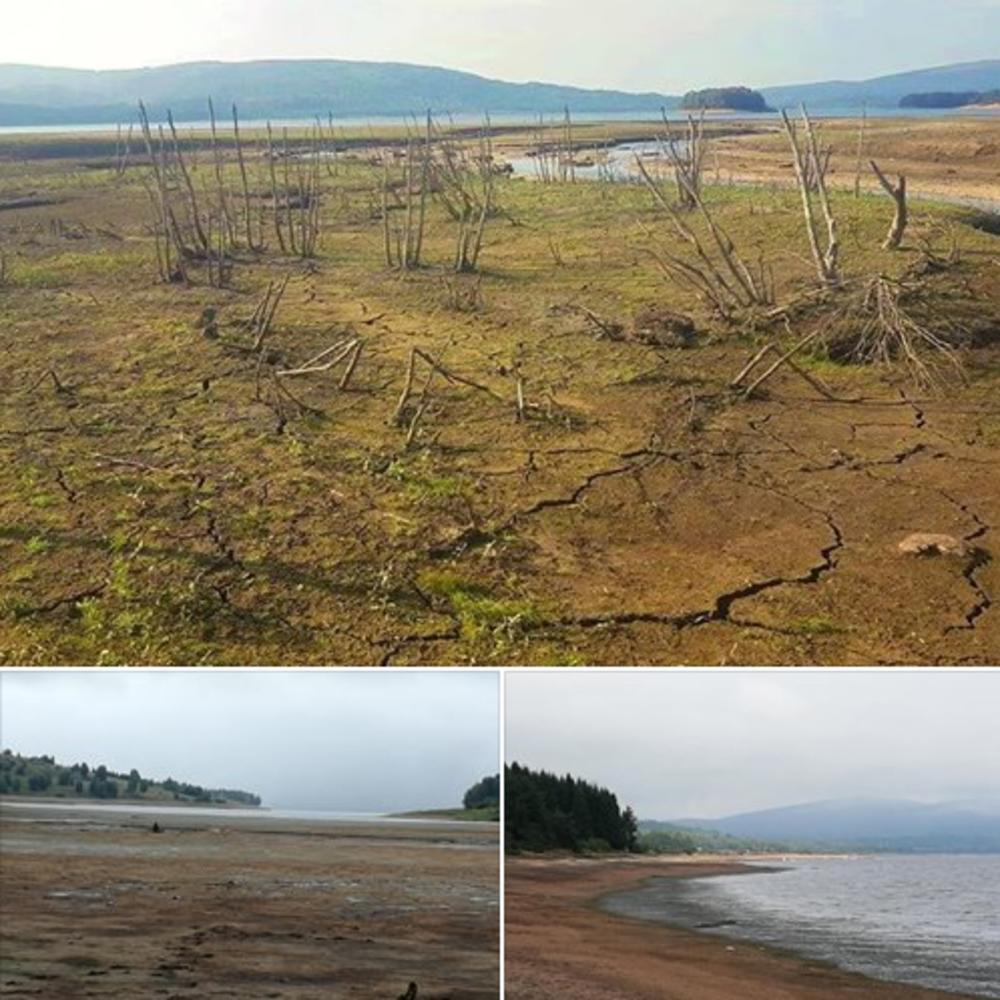 BOLNO DA SE GLEDA: Vlasinsko jezero liči na mesto koje je pogodila prava ekološka katastrofa (VIDEO)