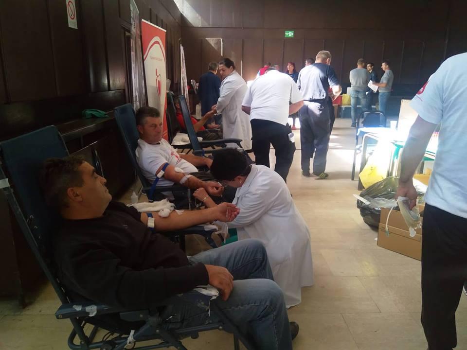 Tradicionalna akcija dobrovoljnog davanja krvi u kompaniji Jumko