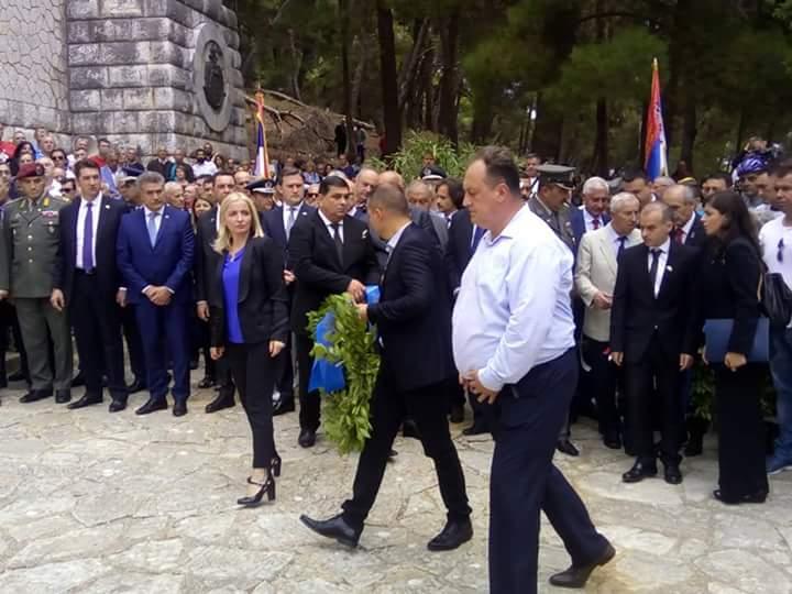 Delegacija Vranja na Krfu odala počast srpskim herojima