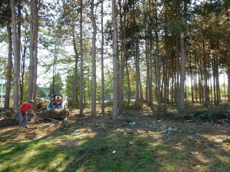 Raščišćava se teren za izgradnju prvog Avantura parka u Leskovcu