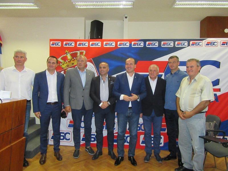 U Vlasotincu održana prva sednica Glavnog odbora Bolje Srbije