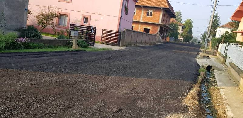 Posut grebani asfalt od Vinarca do Donjeg Stopanja