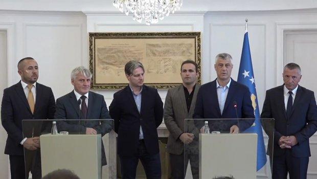 Tači: Ako dođe do sporazuma biće takav da Srbija prizna Kosovo i pripajanje Preševa, Bujanovca i Medveđe