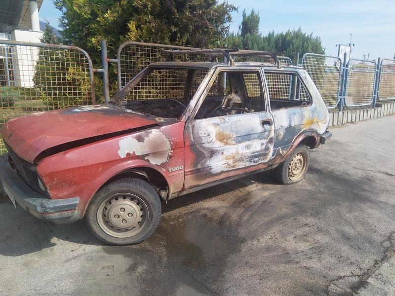 Policija rasvetlila slučaj paljevine automobila, prijave protiv dvojice muškaraca