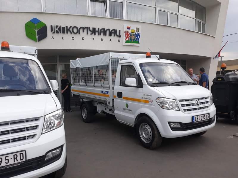 JKP Komunalac se podnovio sa dva nova kamiona i malom čistilicom
