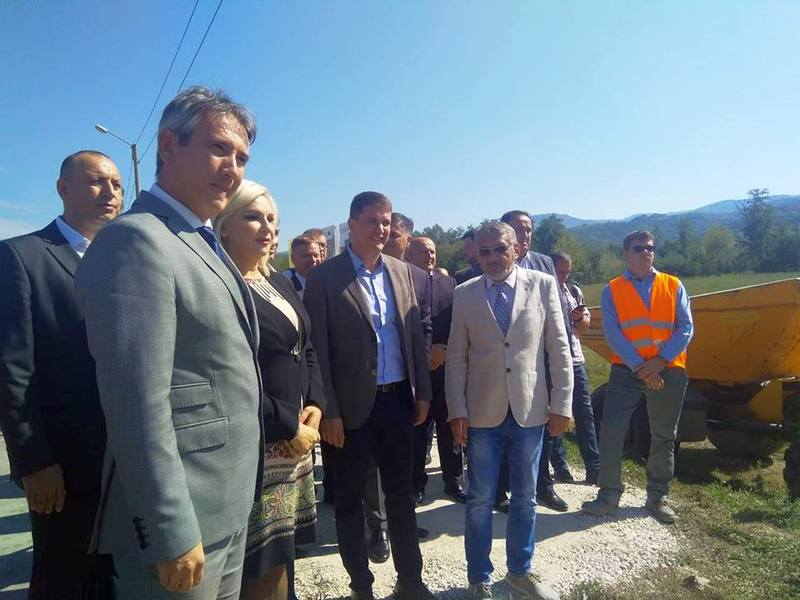 U prisustvu ministarke Zorane Mihajlović počeli radovi na izgradnji fekalnog kolektora