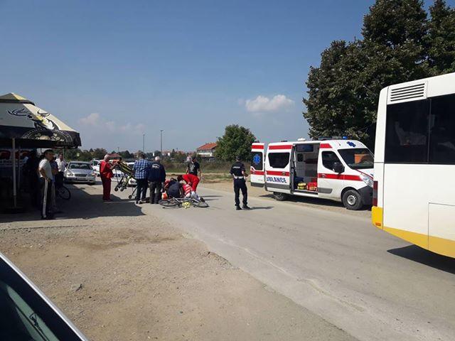 Teška saobraćajna nezgoda: Muškarac u komi prebačen u Niš