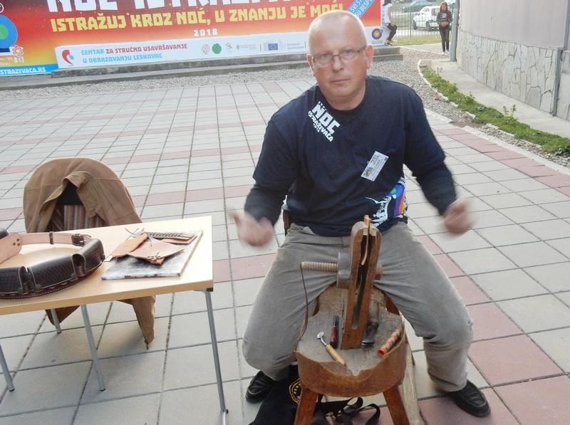 Nenad Đorđević, sarač ovdašnji