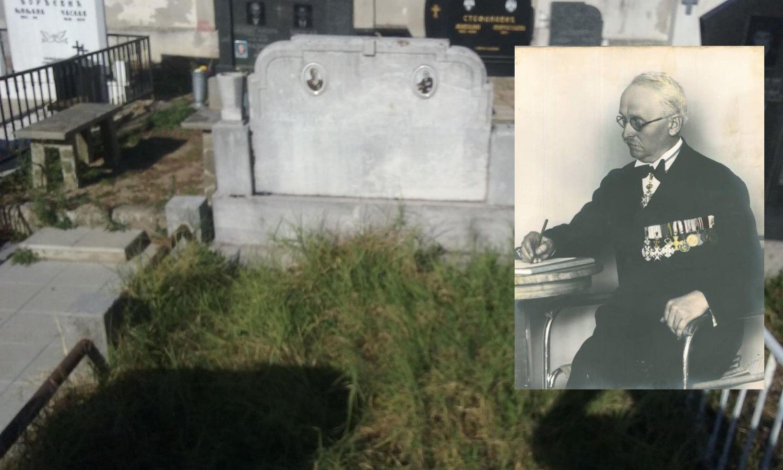Grob najvećeg leskovačkog prosvetitelja urastao u korov, a oni su odlučili da ga otrgnu od zaborava