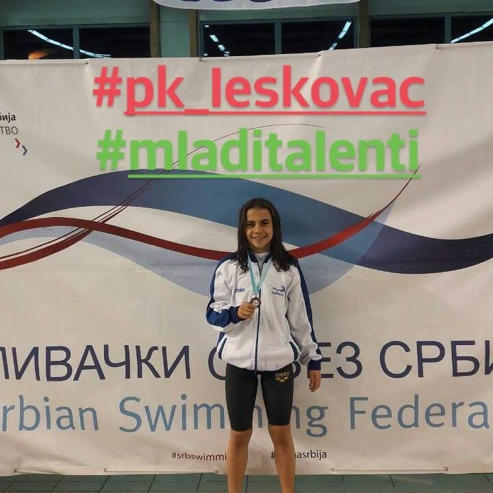 Iva Petković pozvana kao najmlađa u kamp Srbije