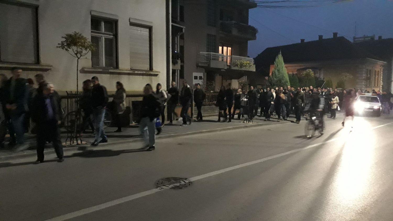 Noćna šetnja sa gradonačelnikom Leskovca(VIDEO)