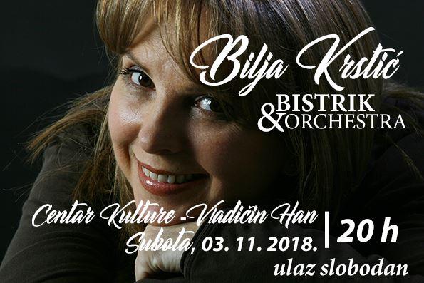 Besplatni koncert Bilje Krstić za sve Hančane