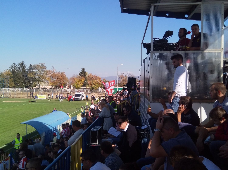 Zvezda savladala Dinamo pred 4.000 gledalaca