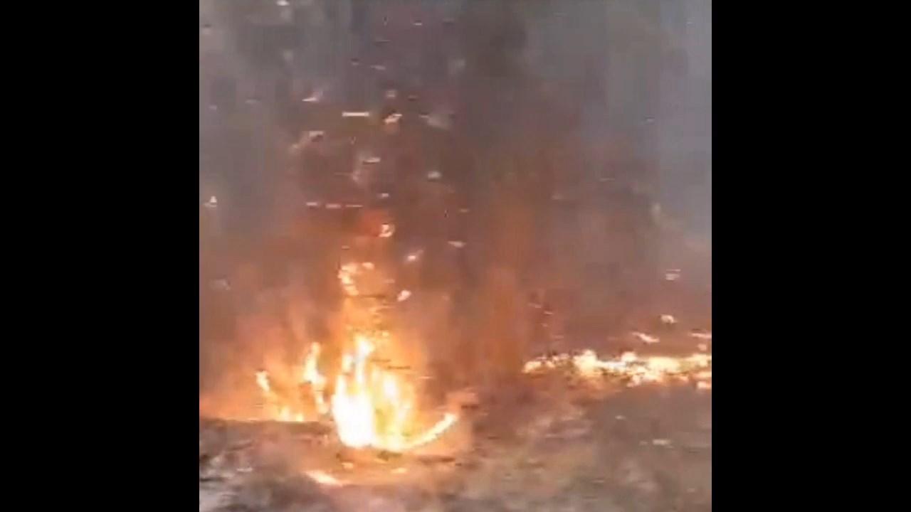 Već tri dana bukte požari u podnožju Radan planine