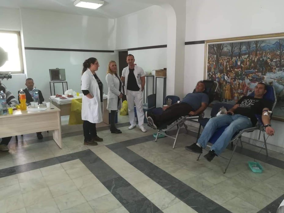 Uspešna akcija dobrovoljnog davanja krvi u Bojniku