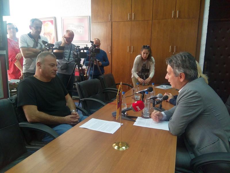 """Prijem kod gradonačelnika za Frenkija dobitnika nagrade """"Tori Janković"""""""
