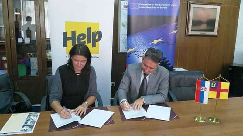 Grad potpisao novi sporazum sa HELP-om vredan 80 000 evra