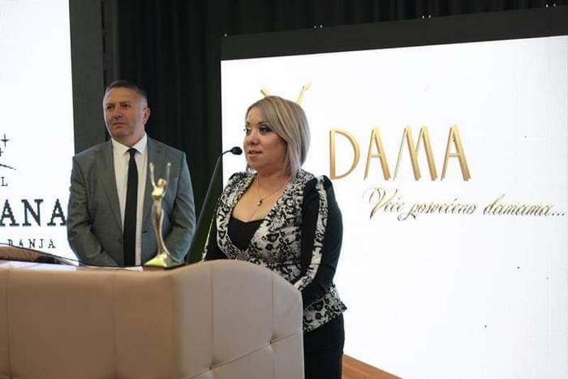 Vlasotinčanka Miljana Išljamović ponela laskavu titulu Dame godine