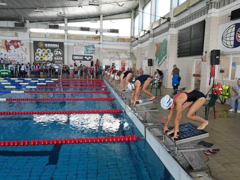 Trinaest medalja za niške plivače