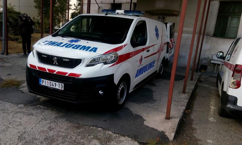 Donirano novo vozilo Službi Hitne medicinske pomoći Doma zdravlja