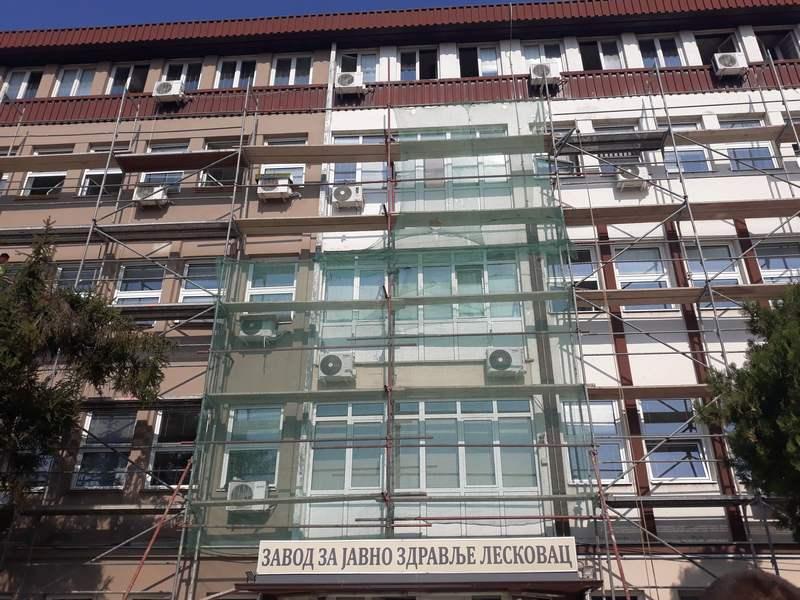 Počela obnova zgrade Zavoda za javno zdravlje