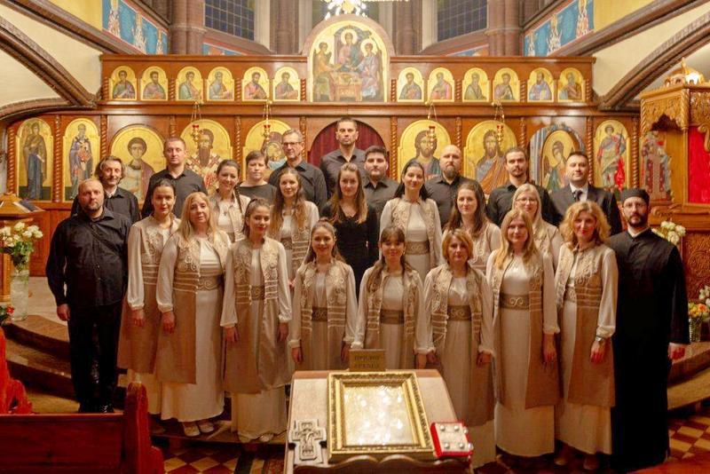 Suze i aplauzi u Berlinu na koncertu leskovačkog crkvenog hora Branko