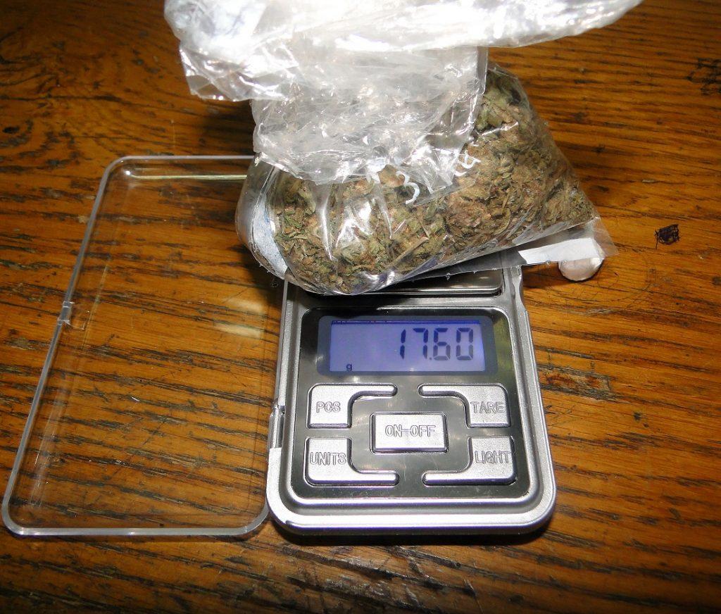 Uhapšen Leskovčanin sa 176 grama marihune
