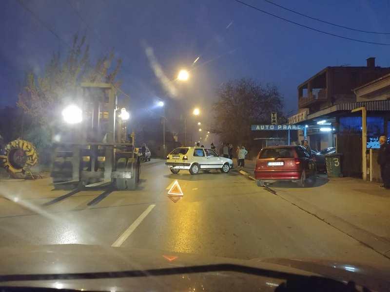 Povređena jedna osoba u saobraćajki u Leskovcu