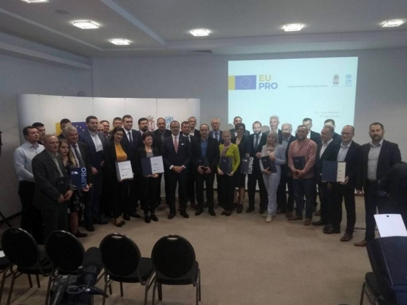 """EU PRO finansira uređenje Skobaljić grada i sanaciju Osnovne škole """"Vasa Pelagić"""""""