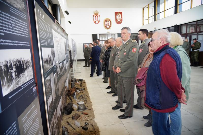 Izložba o Moravskoj diviziji u Velikom ratu i u Nišu